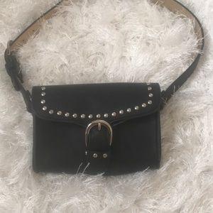 Handbags - Cute black belt bad with silver studs(read plz)